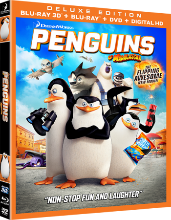 Пингвины Мадагаскара / Penguins of Madagascar (2014) BDRip 1080p от Ash61 | 3D-Video
