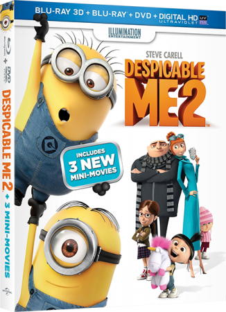 Гадкий я 2 / Despicable Me 2 (2013) BDRip 1080p | 3D-Video
