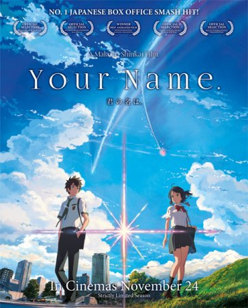 Твоё имя / Kimi no Na wa / Your Name (2016)