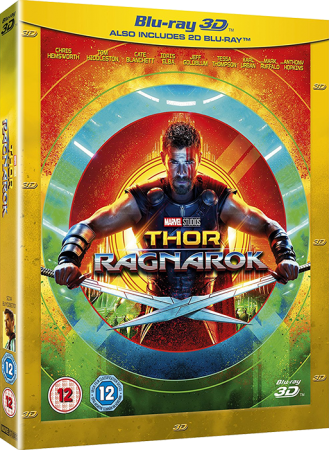 Тор: Рагнарёк / Thor: Ragnarok (2017) BDRip 1080p | 3D-Video | halfOU | IMAX version