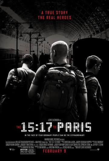 Поезд на Париж / The 15:17 to Paris (2018)