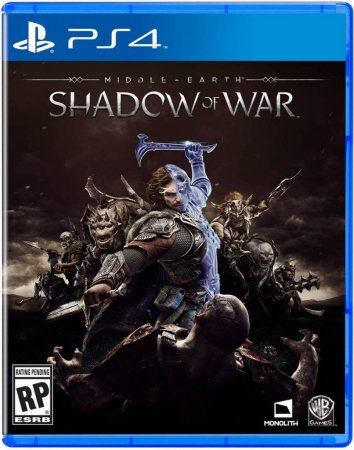 Middle-earth: Shadow of War (Установка на Playstation 4)
