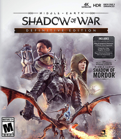 Middle-earth: Shadow of War - Definitive Edition (2018) Repack от xatab